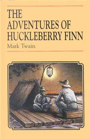 cover of Huckleberry Finn