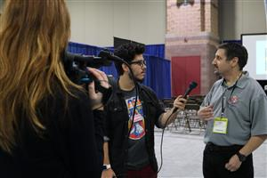 Media at the Teachers Convention